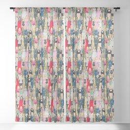 Madonna-A-Thon Sheer Curtain
