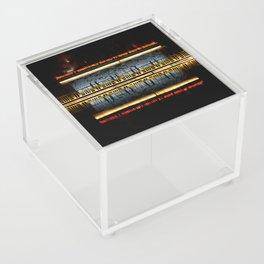Temple reflection Acrylic Box