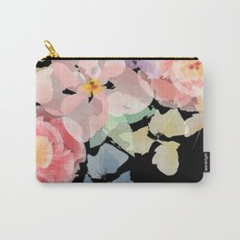 Watercolour Blooms Carry-All Pouch