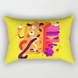 The Moving Block Rectangular Pillow