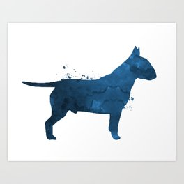 Pit Bull Terrier Art Print