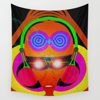 dj Wall Tapestries featuring DJ Vibes by Vibrance MMN