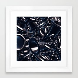 Cool chaos Framed Art Print