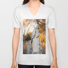 Perched in the Soul Unisex V-Neck