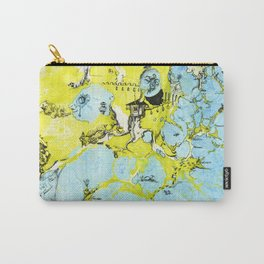 #100 The Map Room Carry-All Pouch