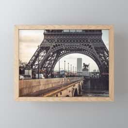 Eiffel Tower 3 Framed Mini Art Print