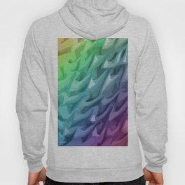 Rainbow Mermaid Skin Hoody