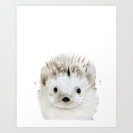 Hedgehog. Kunstdrucke