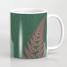 Fall Fern Fractal Coffee Mug