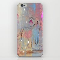 bunny iPhone & iPod Skins featuring Bunny by Judy Skowron