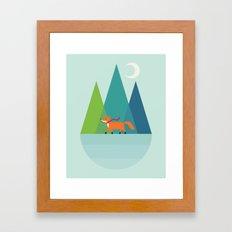 Winter Wish Framed Art Print