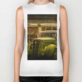 Service Station Automobile Car Care Biker Tank