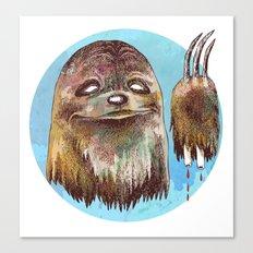 Sloth Pride Canvas Print