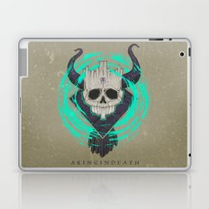 A KING IN DEATH Laptop & iPad Skin