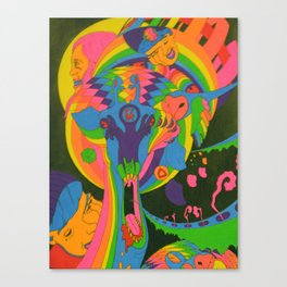 This Here Giraffe Canvas Print