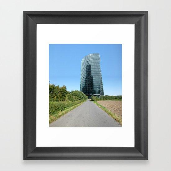 Surreal CityLand Collage 3 Framed Art Print