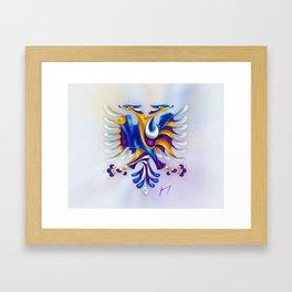 Kosovar (Albanian) Eagle Framed Art Print