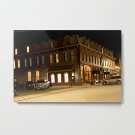 The Grand Imperial Hotel of Silverton, built in1883 Metal Print