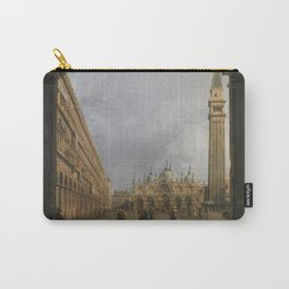 Piazza San Marco by Canaletto Carry-All Pouch