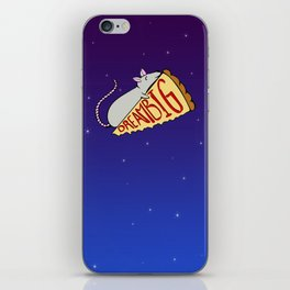 Pizza Rat Dream Big iPhone Skin