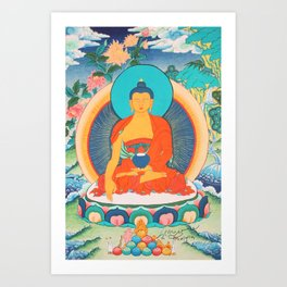 Sakyamuni Art Print