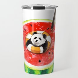 How Pandas Keep it Cool Travel Mug