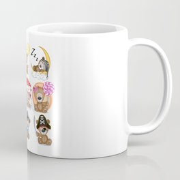 Various Bears Coffee Mug