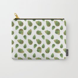 Leaves Motif Nature Pattern Carry-All Pouch