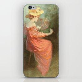 Vintage poster - La Peinture iPhone Skin
