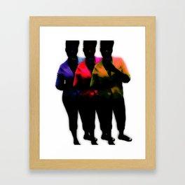 InColour Framed Art Print