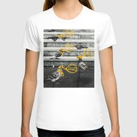 gangster T-shirts featuring Gangster Pigeons by Wonder of Wild