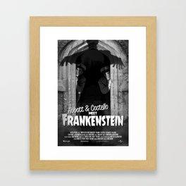 Abbott & Costello Meet Frankenstein Framed Art Print