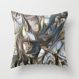 ABSTRACT 1<>X1 Throw Pillow
