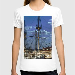 Jamestown Dock 2 T-shirt
