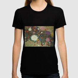 flower【Japanese painting】 T-shirt