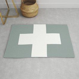 Swiss Cross Rug