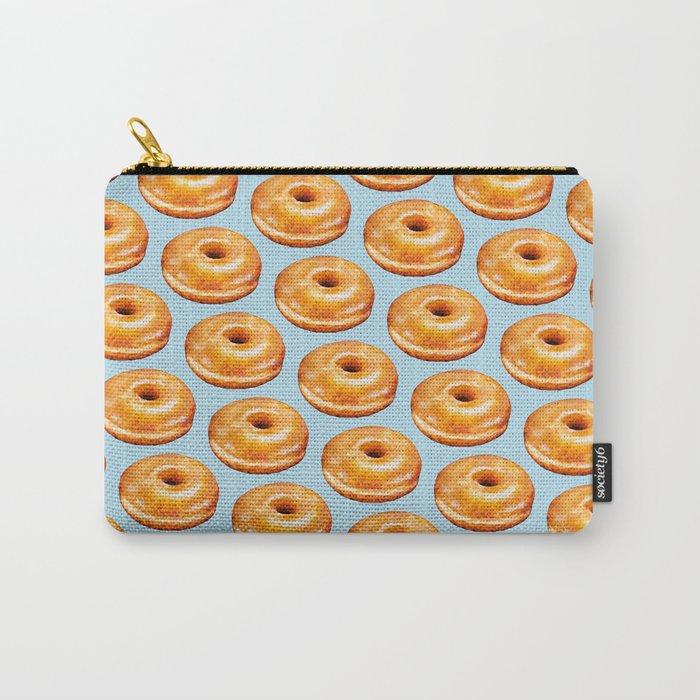 Donut Pattern - Glazed Carry-All Pouch