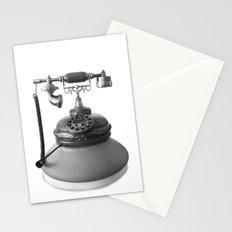 Retro Digital Phone Stationery Cards