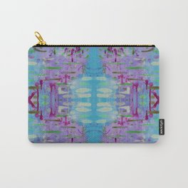 Purple Watercolor Tapestry Carry-All Pouch