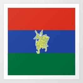 Flag of Kayah Art Print