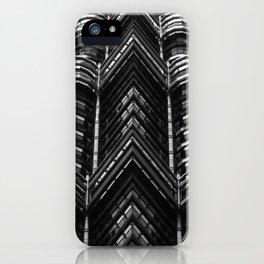 kuala lumpur bulding iPhone Case