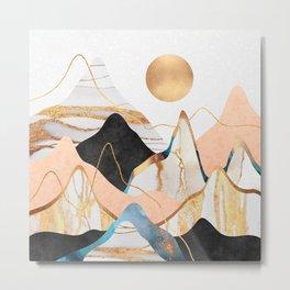 Mountainscape 3 Metal Print