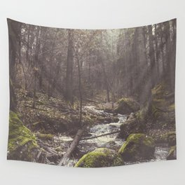 The paths we wander II Wall Tapestry