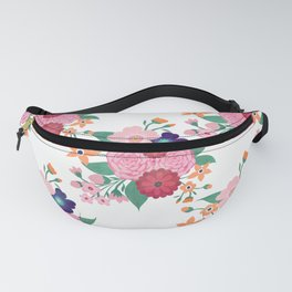 Pretty summer flowers design Fanny Pack