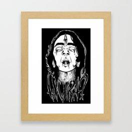 Did It Hurt? Framed Art Print