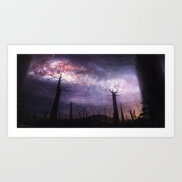 In Touch with the Universe Art Print