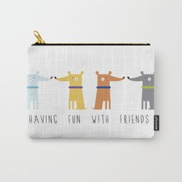 Having fun with Friends Carry-All Pouch