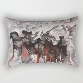 The Unfurling Dreamer Rectangular Pillow