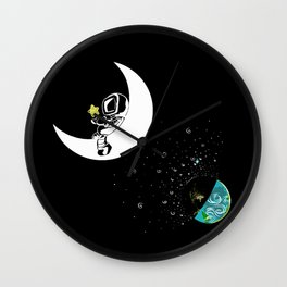 Just to Get Away Wall Clock
