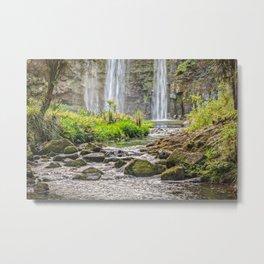 Hatea River and Whangarei Falls, New Zealand Metal Print